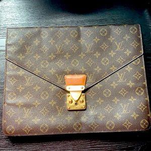 Authentic Louis Vuitton briefcase business BAG